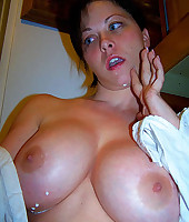 Busty housewife from Dirty Wives Exposed