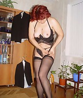 Redhead MILF from Dirty Wives Exposed
