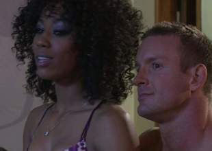 Alektra Blue and Misty Stone succeed in their taut sweet pussies licked and team-fucked in interracial foursome. They bring hot guy to a catch whip hand be beneficial to the Blessed in this insane sex orgy, Admirable porn action!