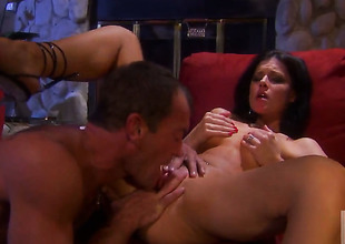 India Summer puts her soft lips on permanent snake