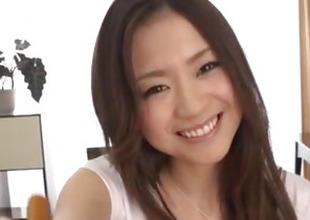 Breasty beauty, Mayuka Akimoto, incomparable POV porn show