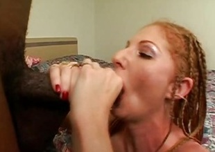 Seductive Annie Multitude gets her muggy cum-hole pummelled
