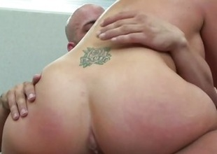 Racy Brooke Haven rides their way pussy beyond everything this thick unearth