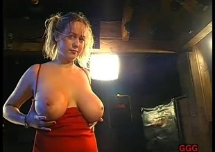 Nasty German sluts milking men's cocks and swallowing it all