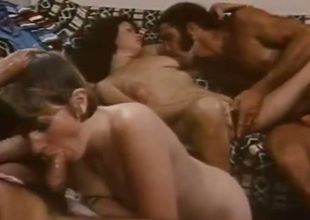 Breathtakingly hot group sex chapter with yoke stubborn temptresses