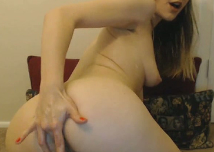 Hawt Teen Explore The brush Tight Pussy with the brush Toys