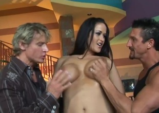 Stunning anal sex scene featuring pornstar Carmella Bing