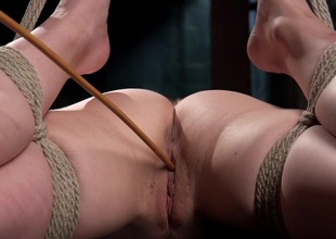 Obedient whore nailed in discerning BDSM scenes