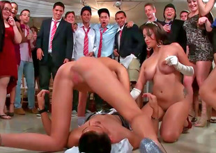 Orgy videotape with Jamie Valentine, Veronica Rodriguez and Rikki Six