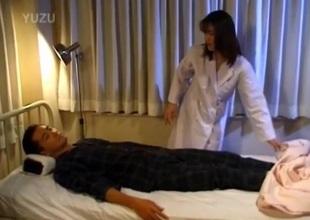 Yuko Tachibana rides cock regarding fingered twat