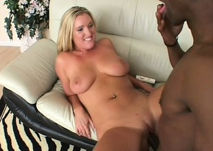 Black man comes searching for an anal slut increased by finds three alright