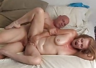 Gorgeous aged honey Tiffany can't live devoid of to fuck