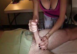 massage with pinch ending