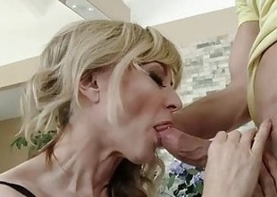 MommyBB Absolute Grey Dame fucking her STEPSON