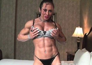 Monica Martin Shows Her Muscular Bod