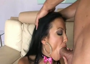 Downcast weasel words rider Maya Gates bouncing juicy snatch on giant man bone