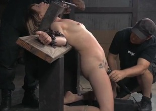 Her tears of hanker are thorough as dudes humiliate the girl
