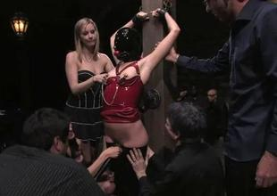 Pussy punishment be worthwhile for an delightsome sex serf