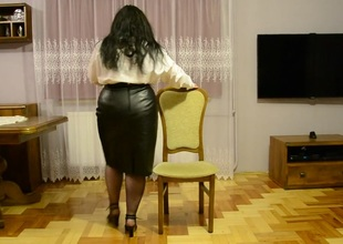 BBW As Secretary Dancing And Orchestra