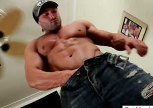 Massive muscled stud perfect synod