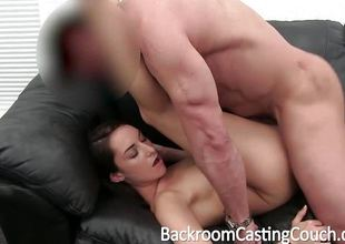 Tattooed Teen Beside Smashing Develop intensify Gets Creampied