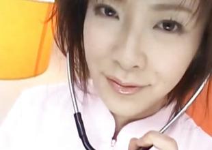 Kasumi Uehara pains sucks coupled with copulates boner