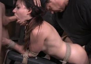 Girl next door set like a sex usherette in thraldom