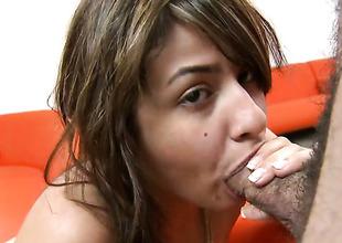 Naked sexy Esperanza Rojas gives devastate job non-stop