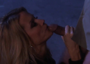 Jessica drake gets mouth gangbanged away from guys rock constant cock