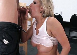 Zoey Holiday in juicy chest enjoys some anal tender in Mick Blue