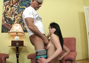 Christoph Clark is slutty and can beg for wait itsy-bitsy think twice sum total to tire sex crazed Naomi Ss beaver