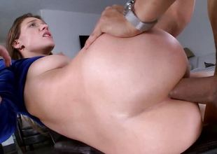 Callie Calypso drilled in will not hear of bootyhole