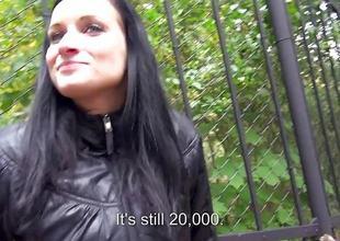 Public sex with Rosalinda in the parkland in Prague