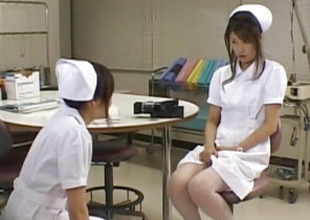 Emiri Aoi nurse loves not in one's wildest dreams dildo on body