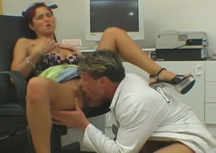 Neat redhead Dana Fuzz lets her man erode her pussy increased by hale he copulates her steadfast