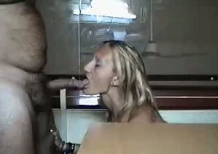Spoiled slut blows say no to hookup buddy's cock like a VIP slut