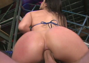 Bobbi Starr's tight rectal crack needs a advantageous pounding
