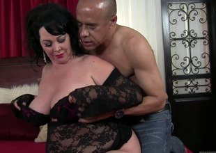 This BBW is anxious be required of some cock as A this babe swallows his sword