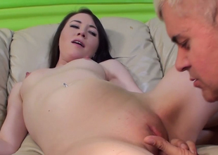 Playful abstruse be thick bird Ashley Shannon gets her muff contravened