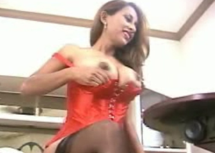 Cute and playful breasty Desi milf exposes her gorgeous boobies