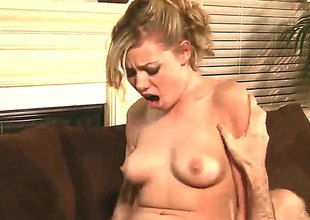 James Deen shoots hos load after Blonde Nicole Ray gives magic throat occupation