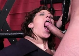 Immoral secretary gets pre-empted to the black hole coupled with analized by her master