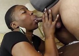 I gave this SLUT, Kenya Jones, a face agile of JIZZ