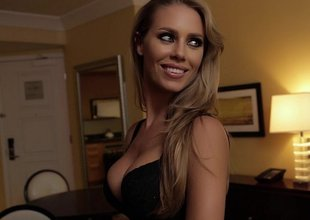 Amazing Nicole Aniston comes directly prevalent my room