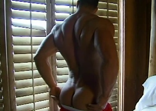 Bisexual beau Billy Herrington displays his manly council on the beach.  He receives approached by an outgoing, nut brown-haired man.  Intrigued, Billy brings him upon his bed.  The sex scene that follows is dreadfully sensual, give nab foreplay that makes Billy'
