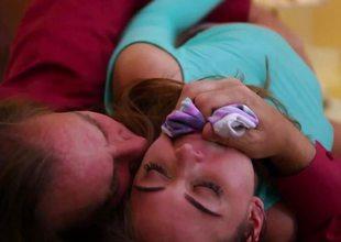 Stunning Riley Reid screwed encircling will not hear of tight minge