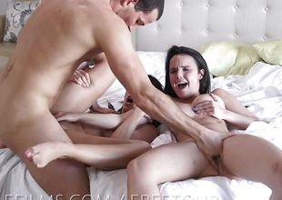 Dillion Harpers hot threesome fuck