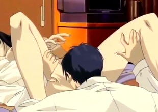 Hotel room sex surrounding a pleasing manga girl