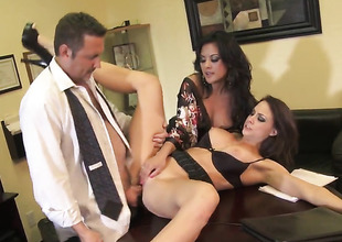 Chanel Preston is radiant in just scene