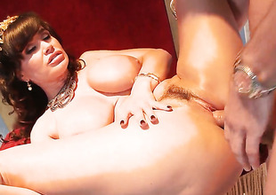 Lisa Ann with juicy breasts loves her Mick Doldrums come across rod in this anal scene